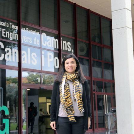 Imagen destacada Tatiana García, premio como mejor investigador junior de estructuras civiles