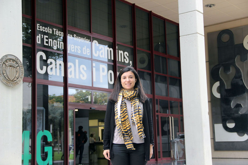 Tatiana García, premio como mejor investigador junior de estructuras civiles
