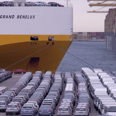 caída de la exportación