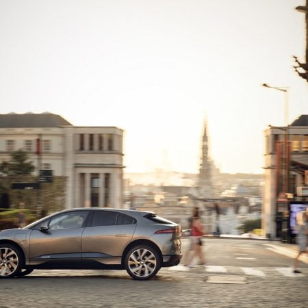 Imagen destacada Grupo Ibérica presenta el Jaguar I-Pace, 100% eléctrico en la Feria del Automóvil