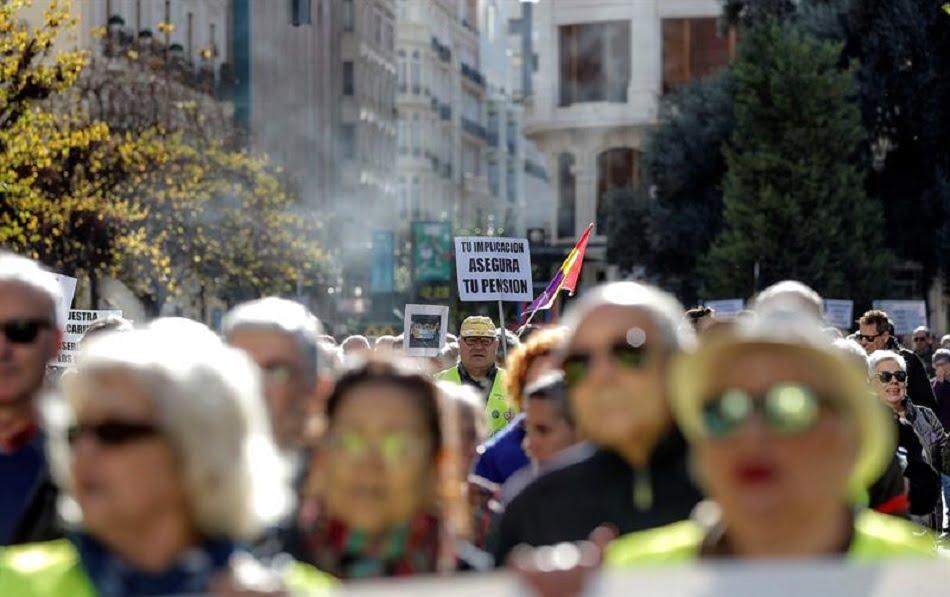 La pensión mínima de jubilación con cónyuge será de 11.701,2 euros en 2019