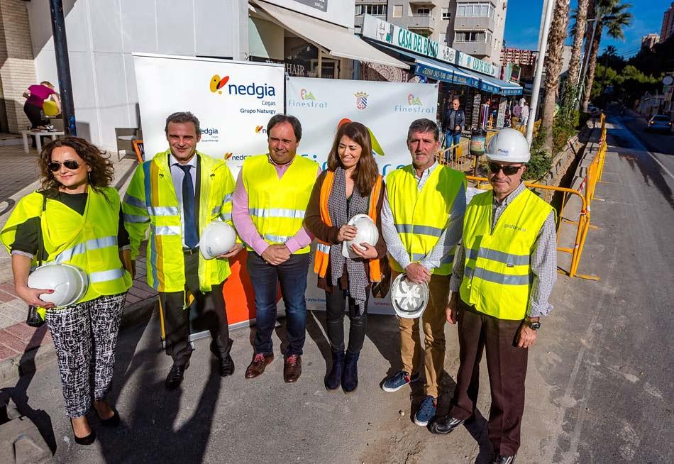 Nedgia lleva el gas natural a 5.000 viviendas de Finestrat