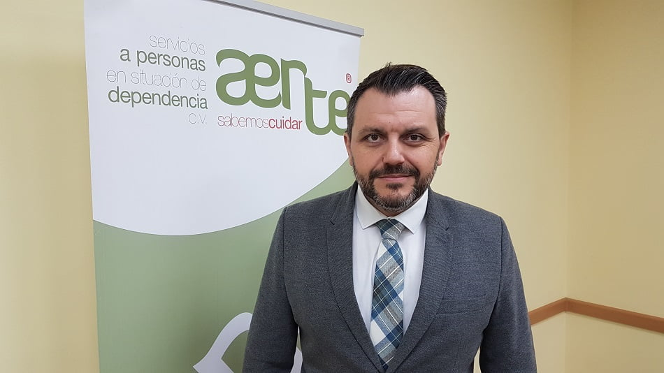 El presidente de Aerte, José María Toro