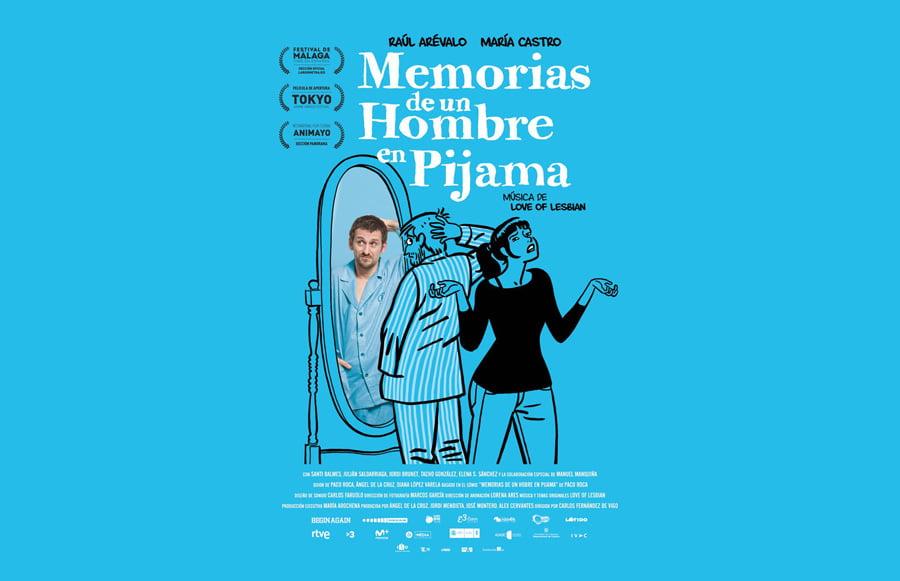 """Álex Cervantes vuelve a los Goya con """"Memorias de un hombre en pijama"""""""