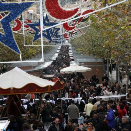Imagen destacada Xixona se prepara para recibir 50.000 visitantes en su Feria de Navidad