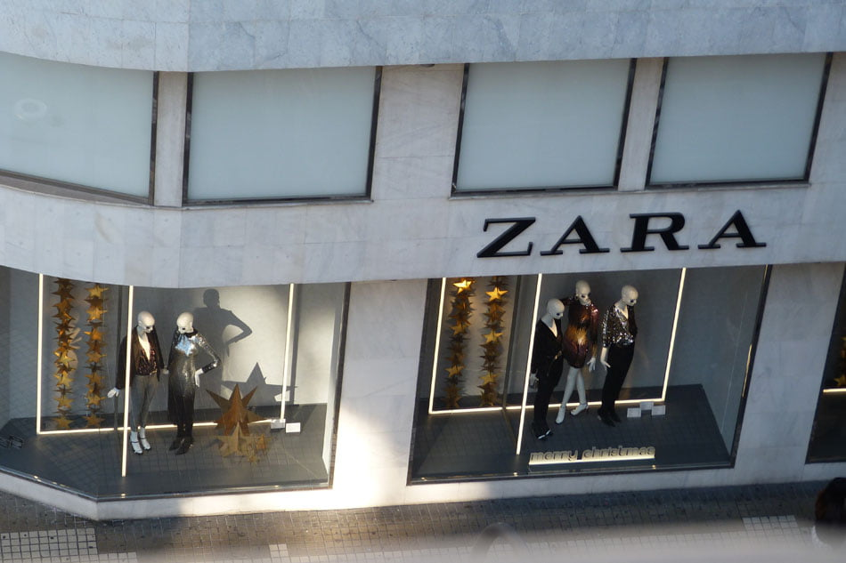 Tienda de Zara en Colón, marca perteneciente al grupo Inditex