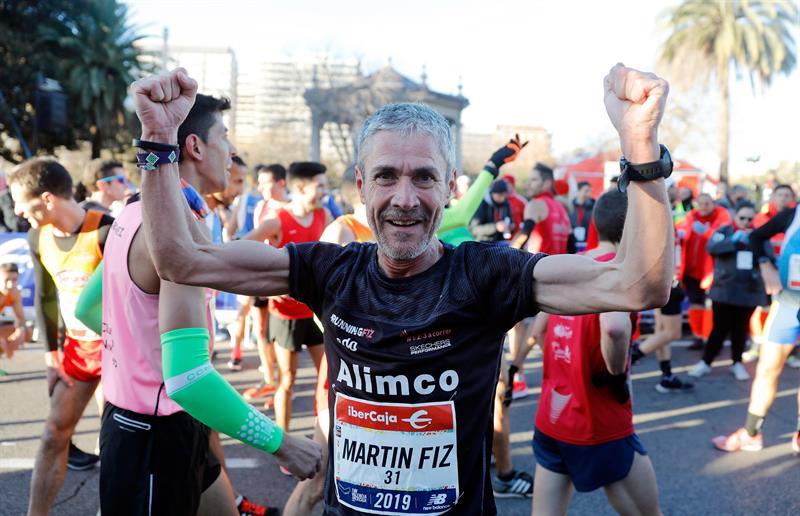 Martin Fiz vuelve a hacer grande Valencia con un nuevo récord mundial