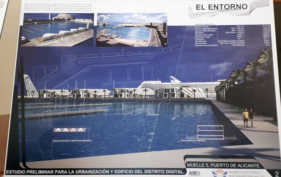 Imagen destacada Expertos evaluarán los proyectos del nuevo edificio de Distrito Digital en el muelle 5