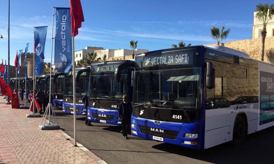 Flota de autobuses de Vectalia