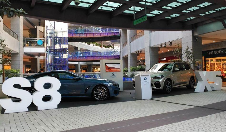 Imagen destacada BMW Engasa expuso los nuevos Serie 8 y X5 en el centro comercial Aqua