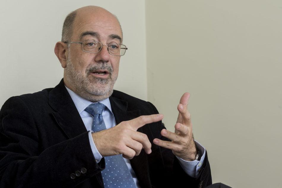El presidente de la Asociación de Directivos y Empresarios Logísticos (Propeller Valencia), Pedro Coca