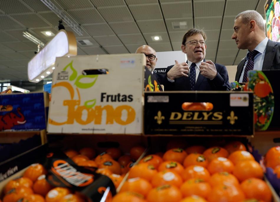 Puig pide la UE un observatorio para el control de precios agrícolas