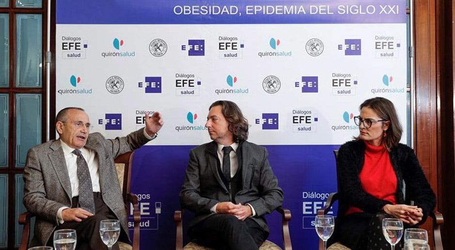 """Alertan de que España no podrá atender el """"tsunami imparable"""" de laobesidad"""