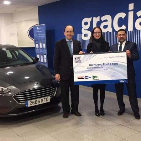 Imagen destacada Vedat Mediterráneo entrega el primer Ford Focus del sorteo con El Corte Inglés