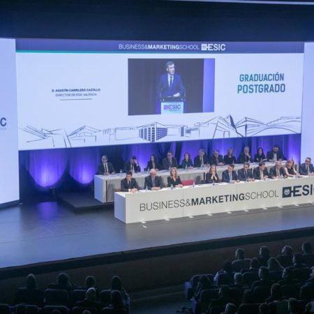 Imagen destacada Graduación de los alumnos de ESIC Business & Marketing School de València