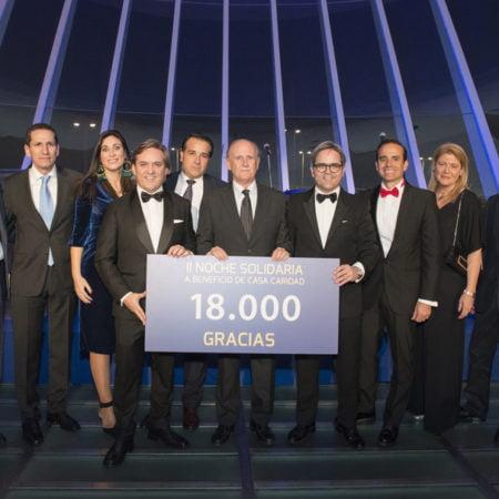 Imagen destacada La Noche Solidaria recauda más de 18.000 euros para Casa Caridad