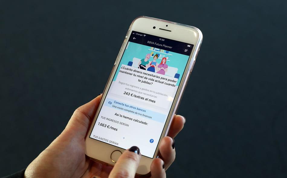 Imagen destacada La nueva aplicación Future Planner de BBVA ayuda a planificar la jubilación