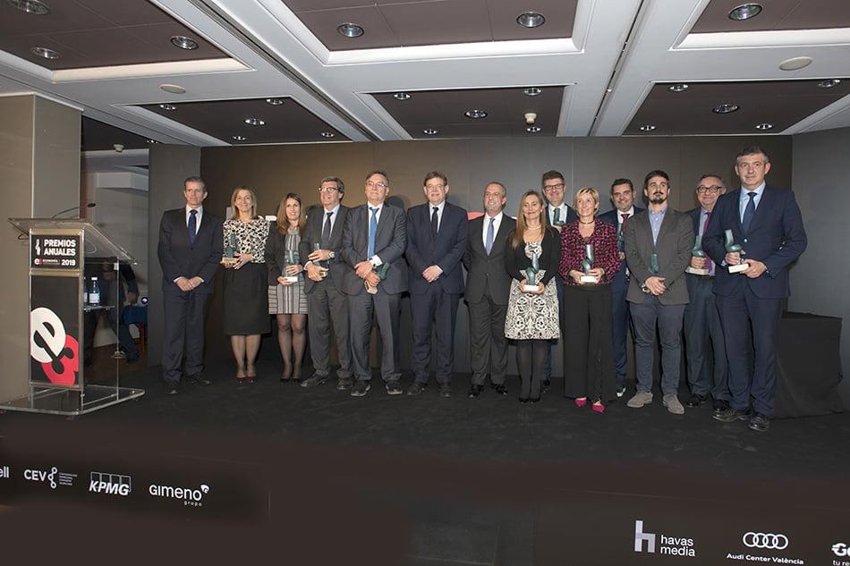 Más de 500 invitados arropan a Economía 3 en su entrega de Premios 2019