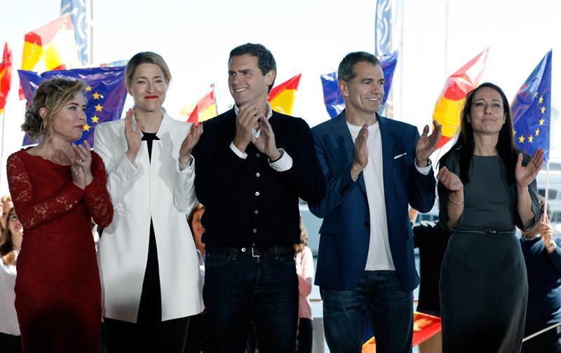 Imagen destacada María Muñoz y Marta Marín, candidatas de Ciudadanos (Cs) por Valencia y Alicante