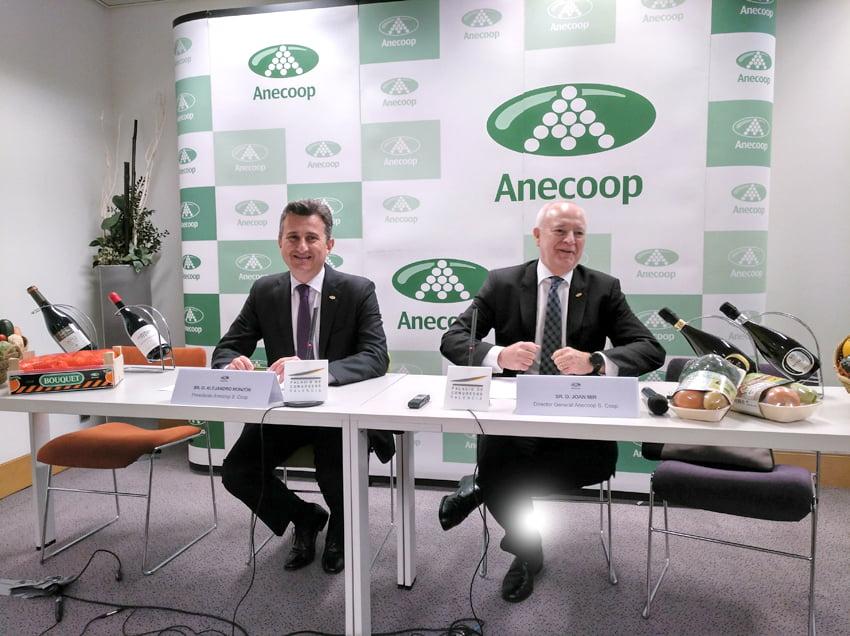 Imagen destacada Anecoop dona 7.500 kilos de fruta a la Comunitat, Murcia, Almería e IFEMA