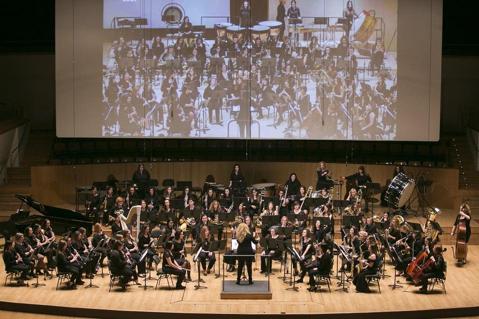 La Banda de Mujeres de la FSMCV estrenará una Suite en el Palau de la Música