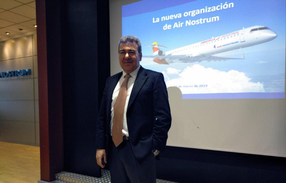 Carlos Bertomeu, presidente de Air Nostrum