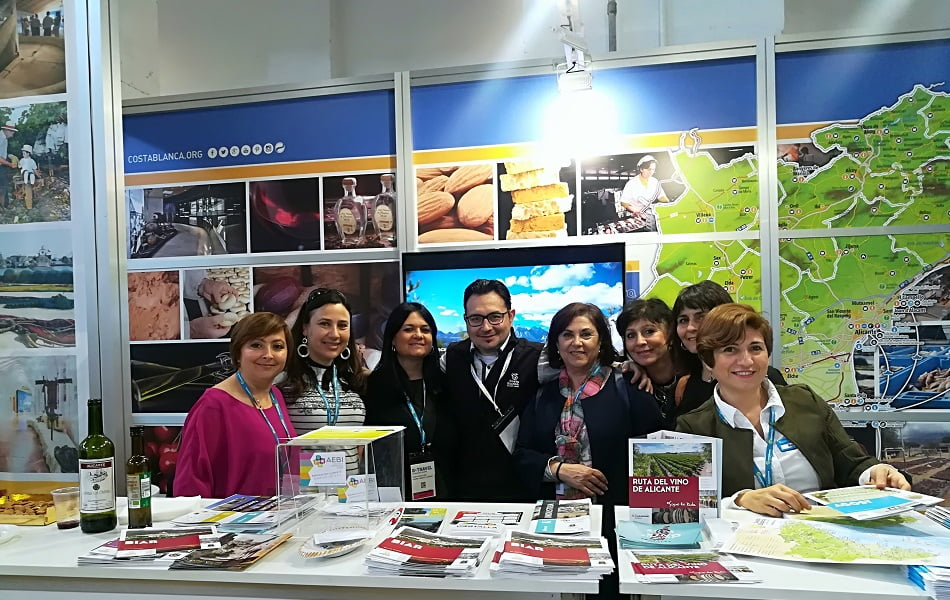 Imagen destacada Costa Blanca promociona el turismo industrial de Alicante en Barcelona