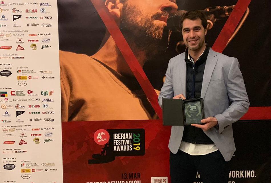 La empresa valenciana Idasfest premiada como mejor proveedor de festivales