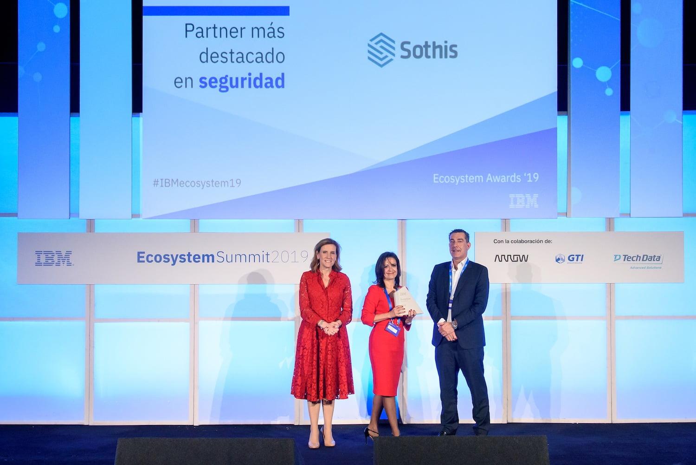 Imagen destacada IBM premia a Sothis como socio destacado en temas de ciberseguridad