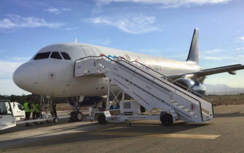 El aeropuerto de Castellón iniciará el 11 de julio la conexión con Bilbao