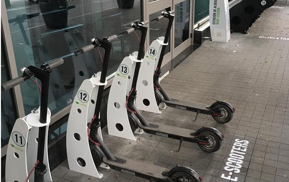 MyrentGO lanza en València la primera estación de movilidad sostenible para hoteles