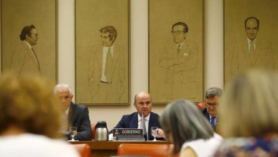 De Guindos niega presiones sobre Rato para que dimitiera de Bankia