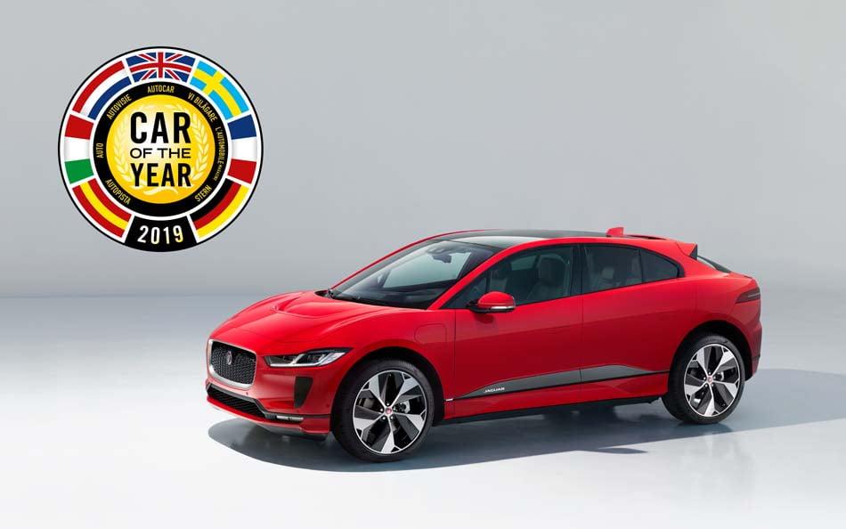 Imagen destacada Jaguar gana por primera vez el título Coche del Año en Europa con el eléctrico i-pace