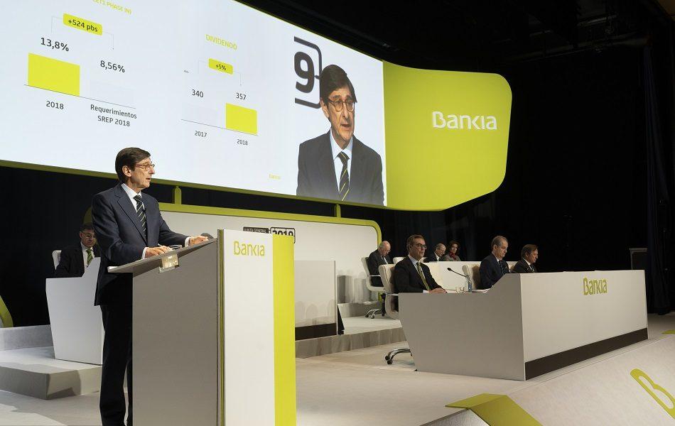 Imagen destacada Bankia gana 390 millones hasta junio y BBVA, 2.400 millones