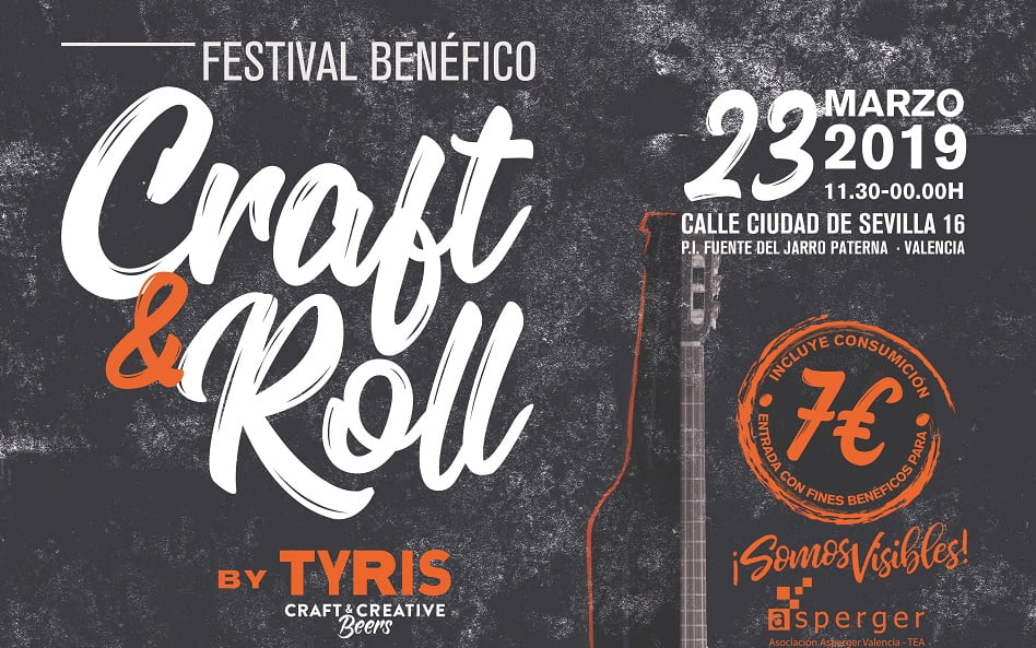 Imagen destacada Cerveza Tyris acoge un festival solidario a beneficio de la Asoc. de Asperger Valencia