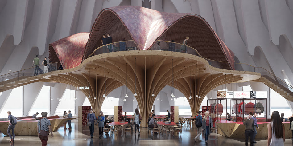 La Caixa confía en abrir el CaixaForum del Ágora en 2021