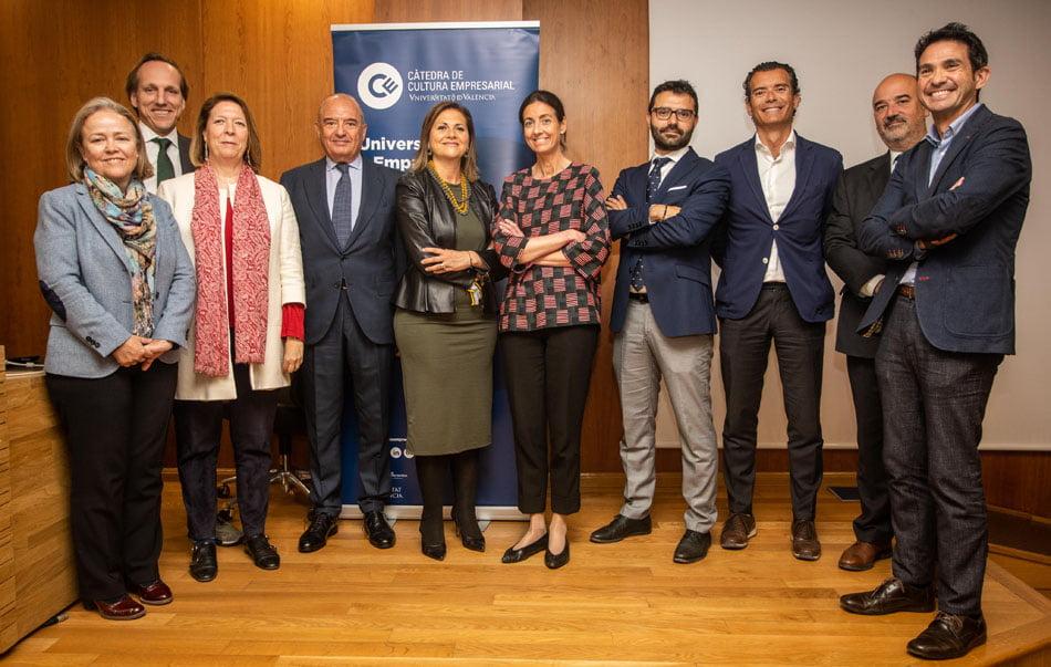 Imagen destacada Diez empresas se suman a la Cátedra de Cultura Empresarial de la UV