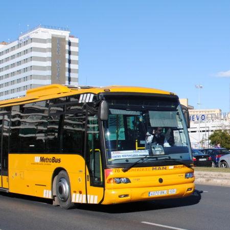 línea de autobús