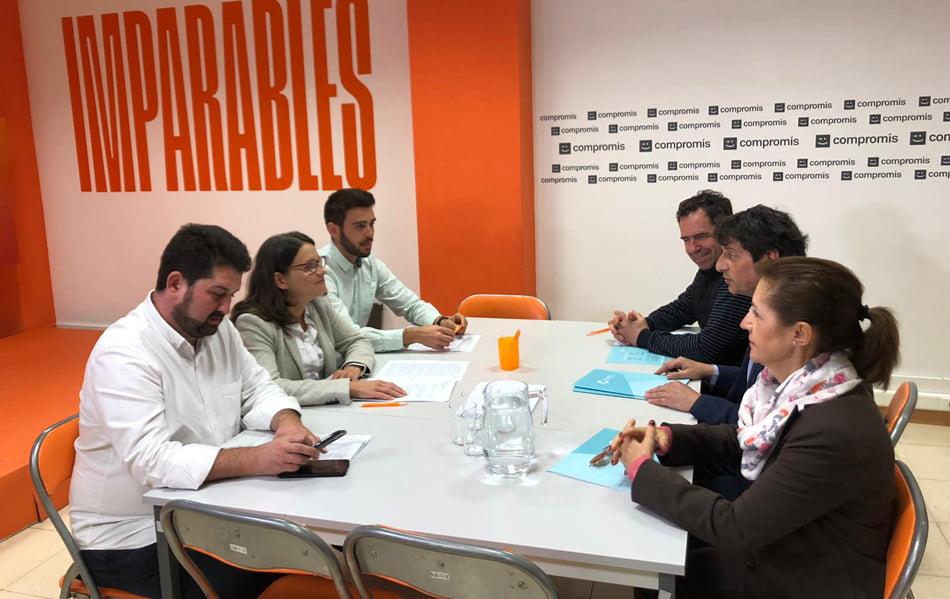 Imagen destacada Confecomerç plantea a Compromís sus peticiones de cara a la próxima legislatura