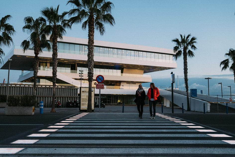 Imagen destacada La Marina instala los dos primeros pasos de peatones inteligentes