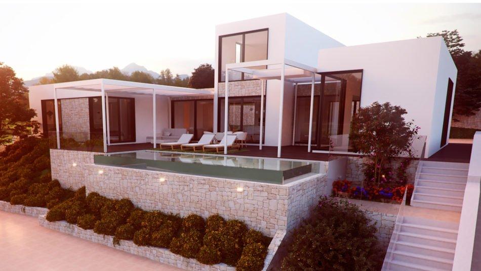 Casas InHaus monta una casa terminada para el festival Open House València
