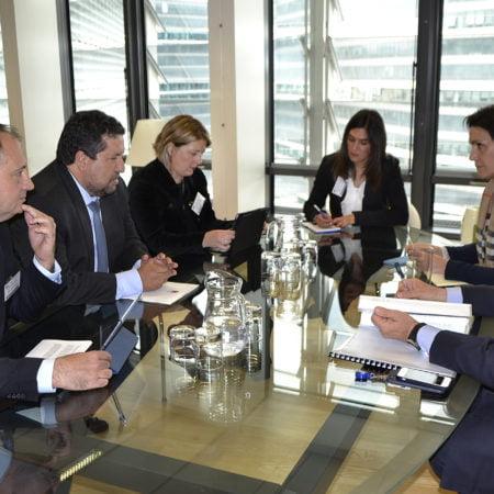 Diputación de Castellón, Unión Europea, Arias Cañete, Moliner, cerámica