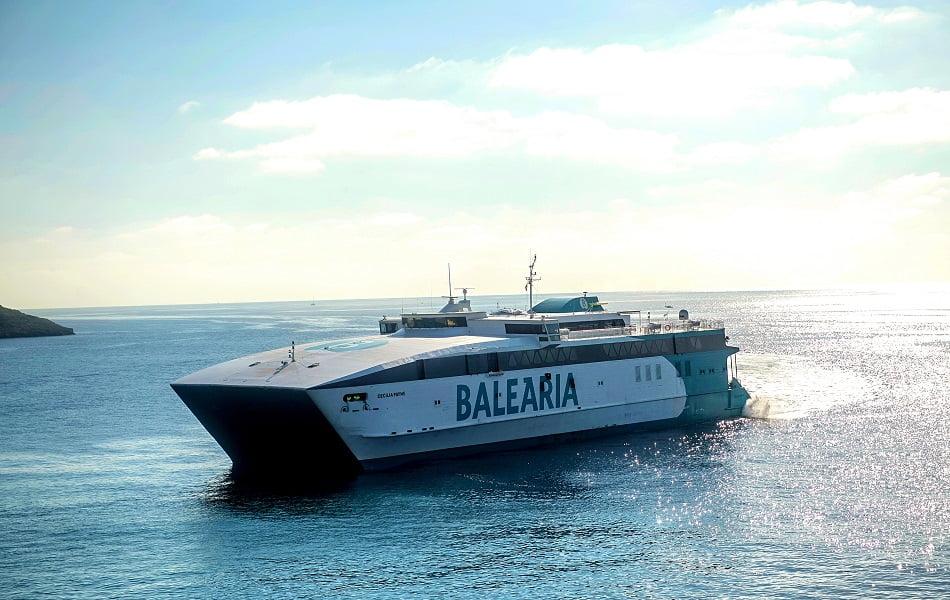 Imagen destacada La UE subvenciona el 50% de un proyecto de Baleària para la monitorización de emisiones