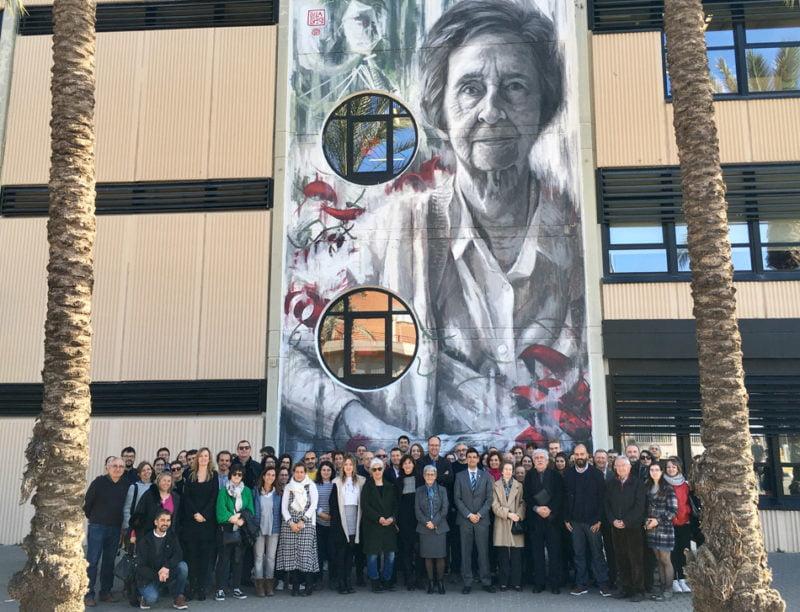 Los murales interactivos Mujeres de Ciencia, mejor proyecto de divulgación científica