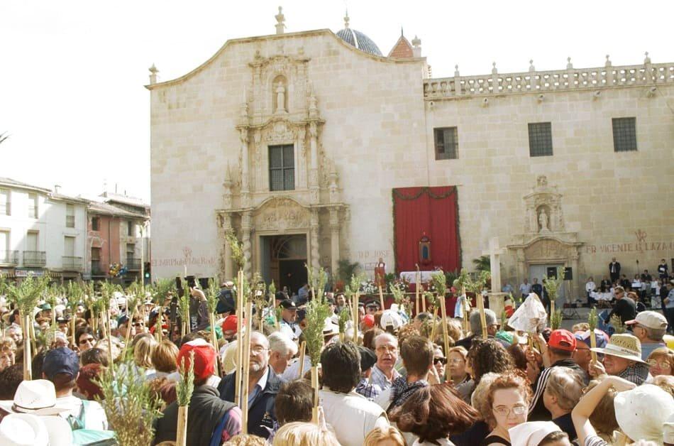 Imagen destacada Denegado el permiso para que la Santa Faz salga el jueves del monasterio