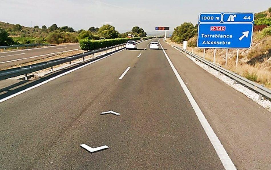 Imagen destacada El tráfico por la AP7 entre Alicante y Valencia aumentó un 119% en enero