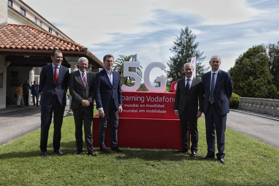 Imagen destacada Vodafone realiza la primera conexión 5G transfronteriza en movilidad