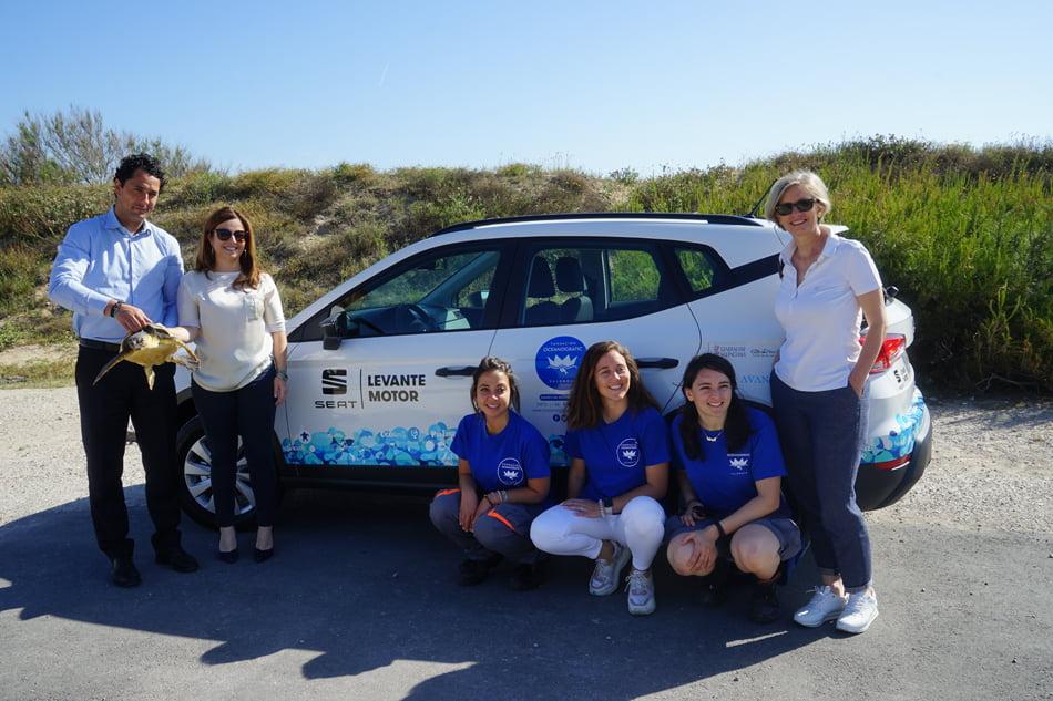 Imagen destacada Seat Levante cede un Arona a la Fundación Oceanogràfic València