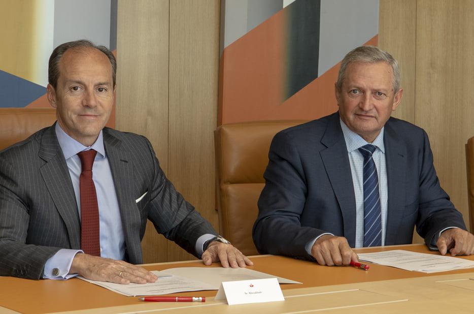 Imagen destacada Santander estrecha vínculos con las cooperativas agroalimentarias españolas