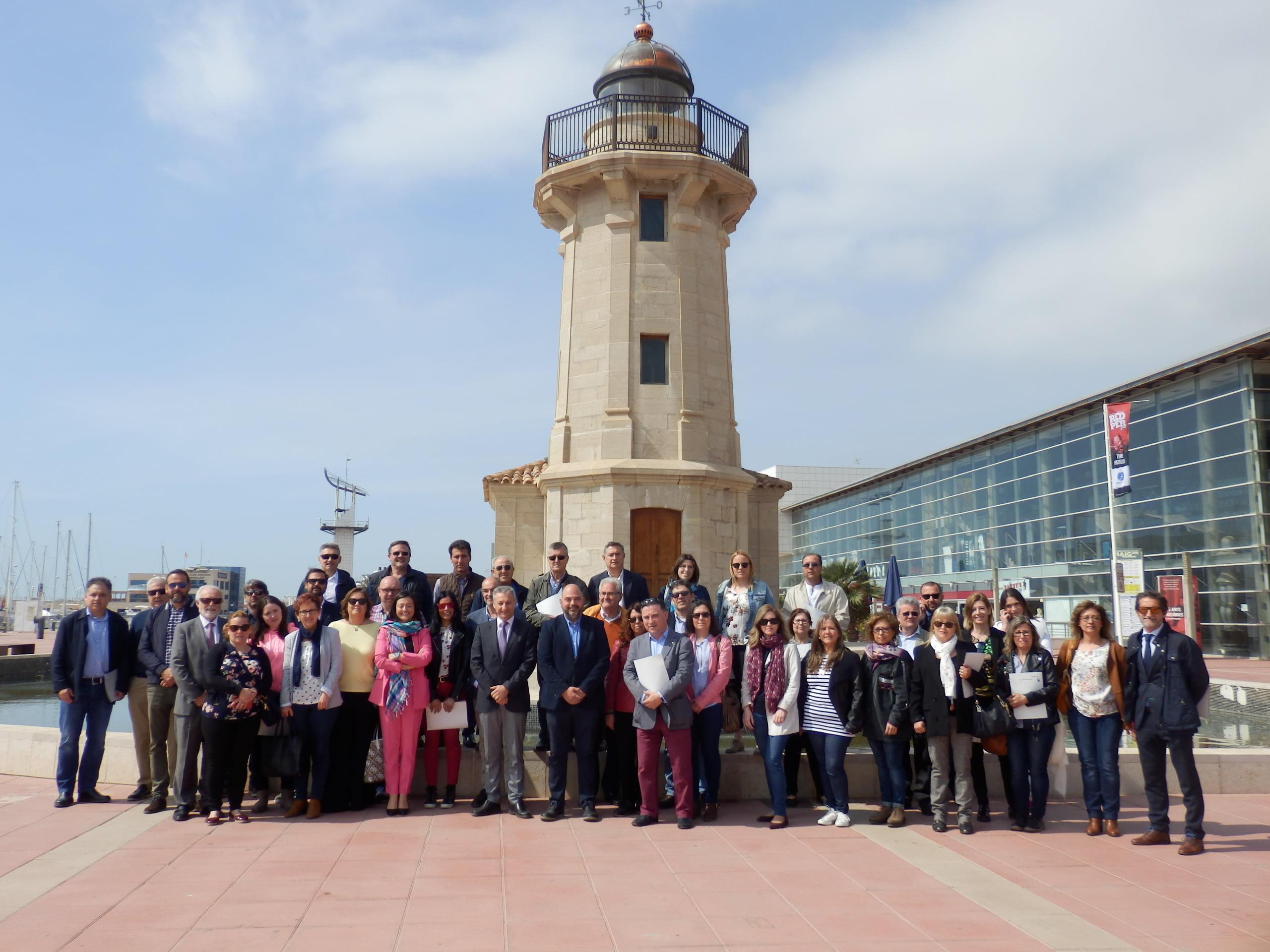 PortCastelló se posiciona ante 45 empresarios como la puerta al mar de Teruel